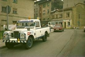 LAND-ROVER  NUESTRA  1ºGRUA  AÑO -1986-